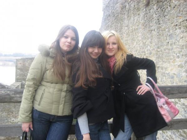 мы в Каменце-Подольскому...точне крепость Хотин!!)