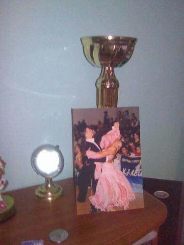 Мой кубок и моё фото)))