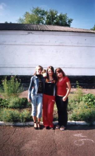 Ми з дівками у школі!!!...