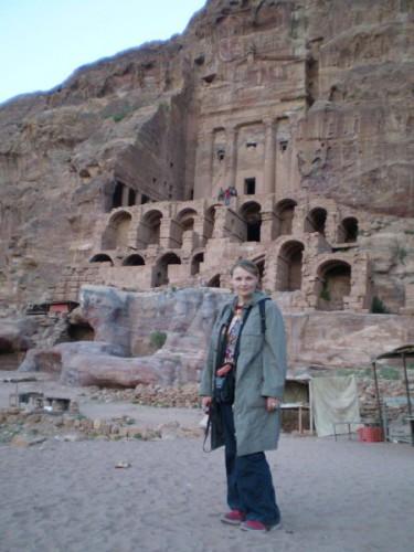 Иордания, Петра, столица набатеев, построена 600 лет до нашей эры
