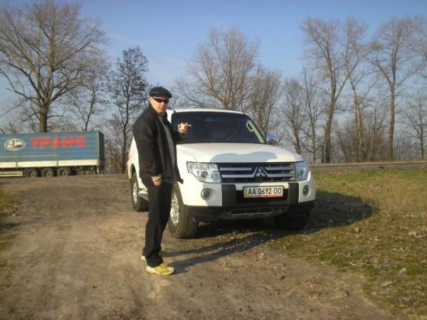 2007г. Киев-Харьков Я и мой Pajero Wagon