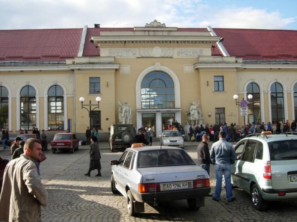 Вокзал Мукачево