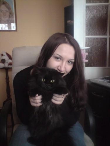 С моей Асечкой))