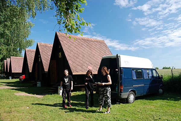 Camp Brodsky, Cerveny Kostelec, Czech Republic 20/06/2008