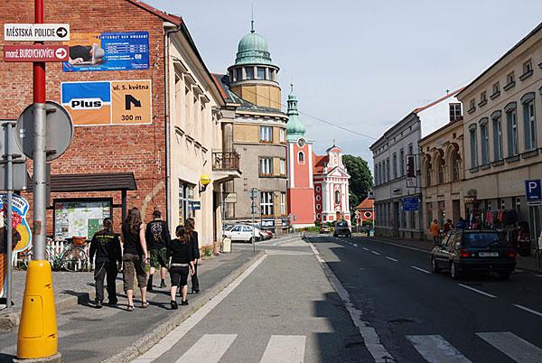 Cerveny Kostelec, Czech Republic 20/06/2008