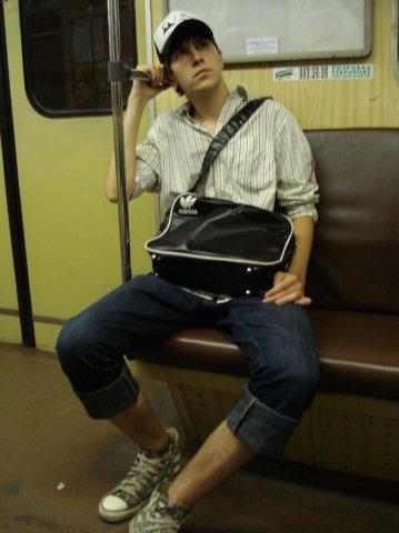 вечернее метро :)