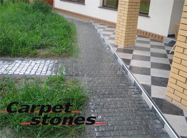 """Тротуарная плитка Каменный Ковер""""Carpet Stones""""новый ФЭМ."""