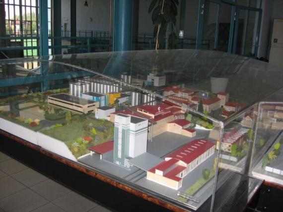 Пивзавод занимающий площадь 20 гектар земли (в миниатюре)