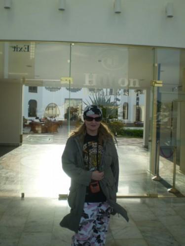 В гостинице Хилтон были потрясающие египетские лепешки с верблюжьим сыром)