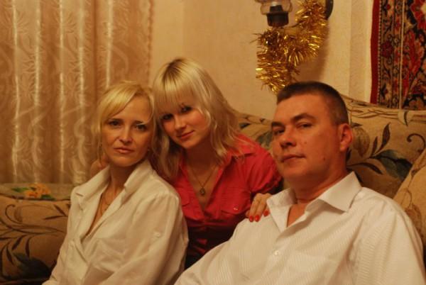 Люблю свОих родителей)))