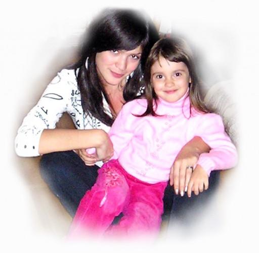 Моя любименькая племяшечка) п.с.Октябрь 2008