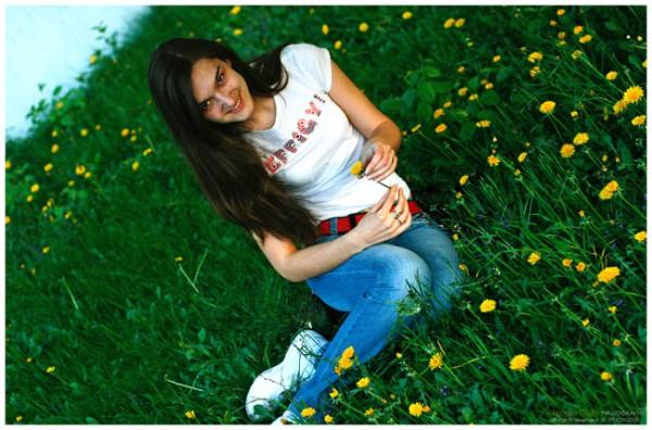 Вечером в парке, парке весеннем слёзы стекают по моим щекам.Это не грустное настроение, это случилась травма лица!