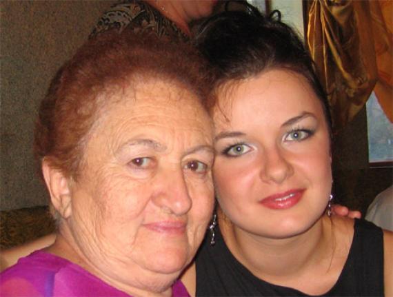 Самая лучшая в мире бабуля!