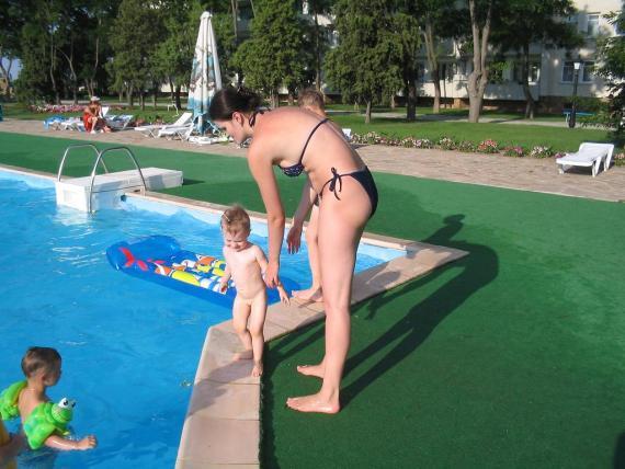 боимся воды))
