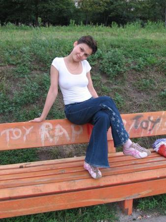 28 июля 2005 г. На окраине географии: возле Радужного озера)