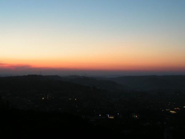 просто вечірні фото з видом на захід