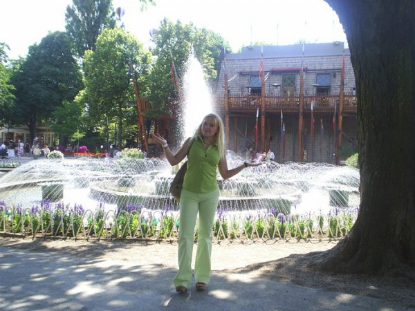 fontan v Tivoli