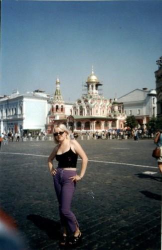 Red square in Moskov