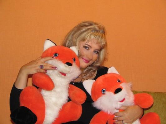 Я с лисичками! :)