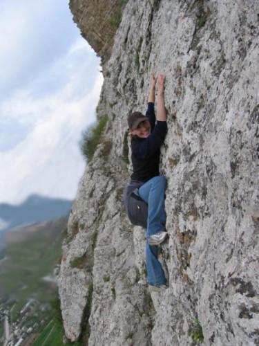 Тяжела жизнь альпиниста