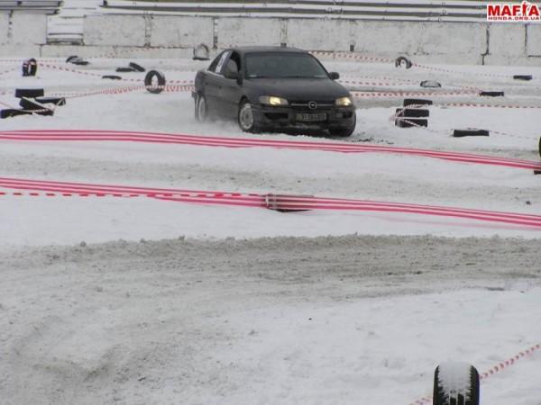 """Open Cup """"Winter 2006 - ICE AGE"""" 1 место в заднем приводе"""