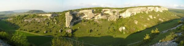 панорама со среднего плато Эски (более качественная версия - на моем сайте - http://www.step-n.kiev.ua/photo.php?gal_id=9&num=69&type=1#foto )