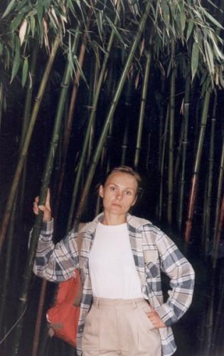 я в бамбуковом лесу