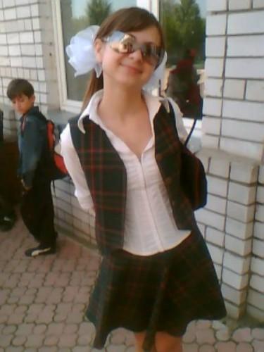 Крутая школьница?)))