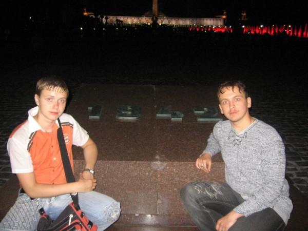 Я и мой Братишка на Поклонке