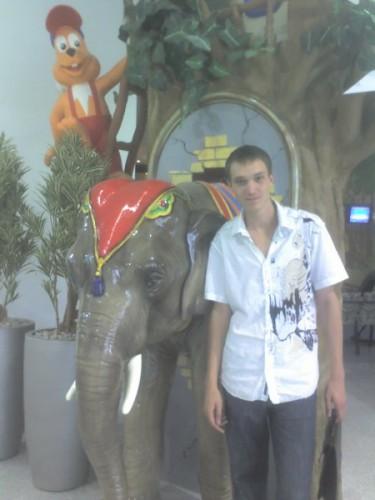 эт опять я со слоником