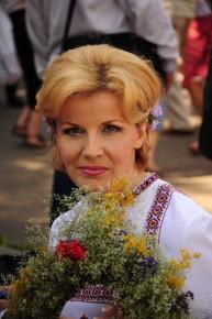 Христина Стебельська, народна артистка України, телеведуча та керівник проектів Першого Національного