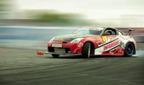 Одесский чемпион - Гриня на Nissan 350Z от компании Элефант.
