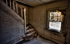 Ghostly Staircase