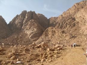 Ступени, которые ведут к горе Моисея