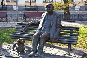 Памятник Николаю Яковченко