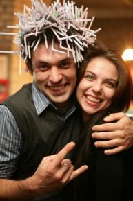 Ёжег и ежиха)))