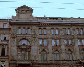 Здание банка на Невском проспекте