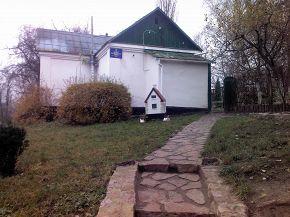 Садовий будиночок у Молодіжному парку