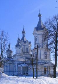 Спасо-Преображенская церковь в Баклани
