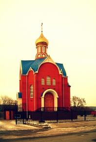 Храм Тихвинской иконы Божьей матери в Титовке