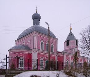 Всесвятская церковь в Новой Слободе