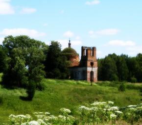 Храм Николая Чудотворца в Елисеевичах
