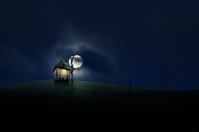 «Ночь полнолуния» 3 (из серии «С любовью к Луне»)