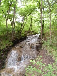 Водопад у с. Кошары, Луганская область.