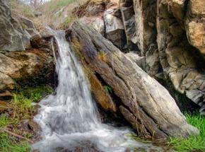 Водопадик в Вахрушево. Луганская область.