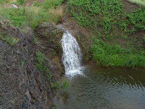 Водопадик Шмыгленко. у с. Каменка, Луганская область.