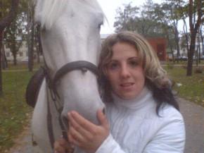 Я и мой любимый конь
