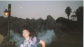 Ja v parke razvlechenii, posle vodnogo atrakciona ves mokryi..(Ispanija)