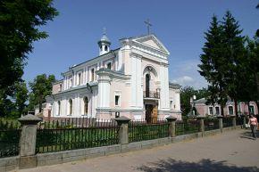Бердычев. Костел Св.Варвары.Тут венчались Эвелина Ганская и Оноре де Бальзак
