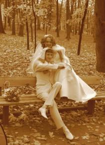 Свадьба друга, без Фотошопа)